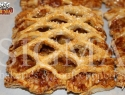 Pithivier with apple, sultanas & walnuts