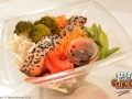 NEW! Salmon Teriyaki Salad