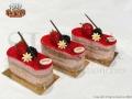 Ατομικό γλυκό Strawberry Brownie