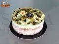 Pistachio Gelato Cake