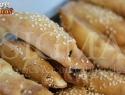 Mini Olive pies with coriander