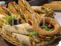 Basket with Sandwiches