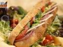 Salami Special in Corn Baguette