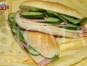Mini ham & cheese sandwich