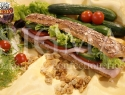 Smoked Turkey in 8-grain ciabatta