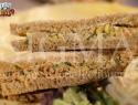 Tuna on wholemeal slice bread