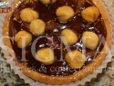 Praline tartlet with hazelnuts